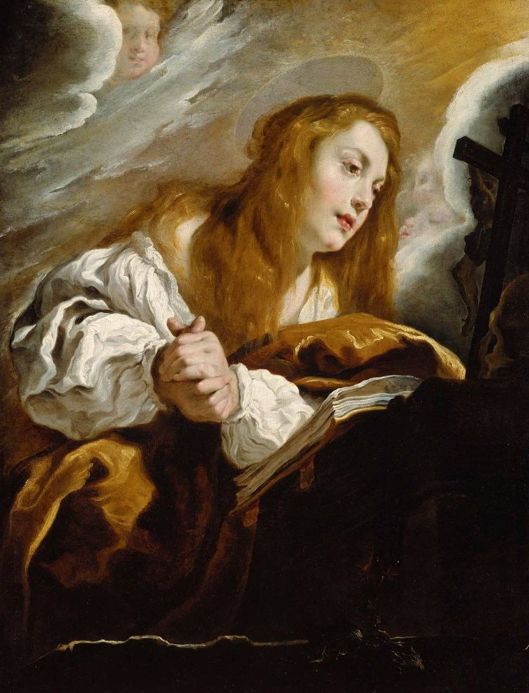 Saint Mary Magdalen Penitent 1615 | Domenico Fetti | oil painting