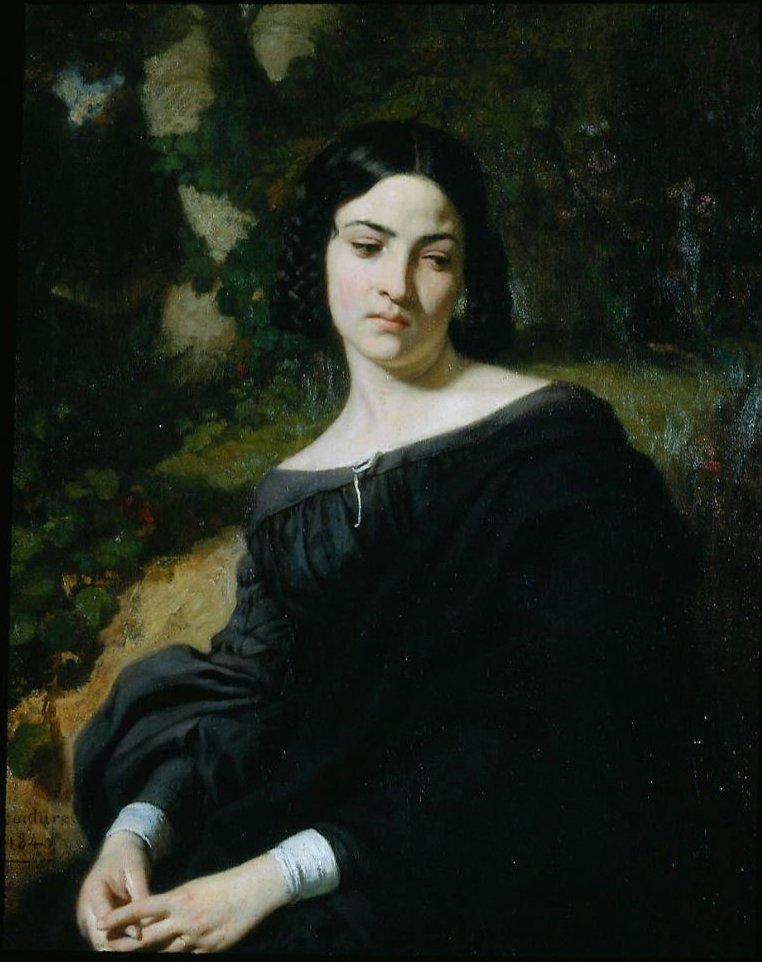 A Widow 1840 | Thomas Couture | oil painting