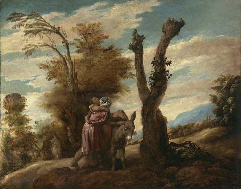 Parable of the Good Samaritan 1622   Domenico Fetti   oil painting