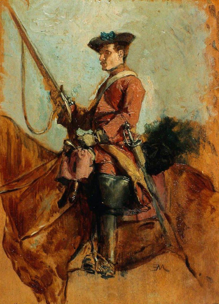 Horseman | Jean Louis Ernest Meissonier | oil painting