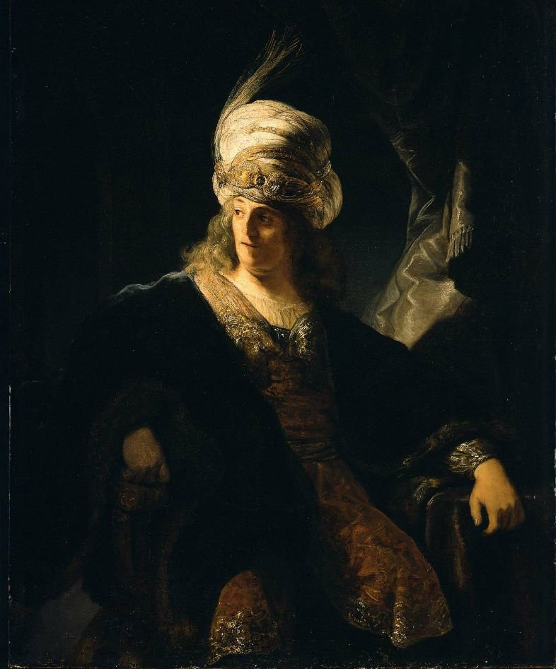 Young Man in Oriental Costume | Ferdinand Bol | oil painting