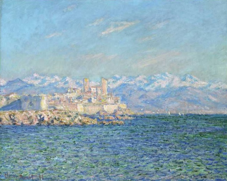 Antibes Afternoon Effect 1888 | Claude Monet | oil painting