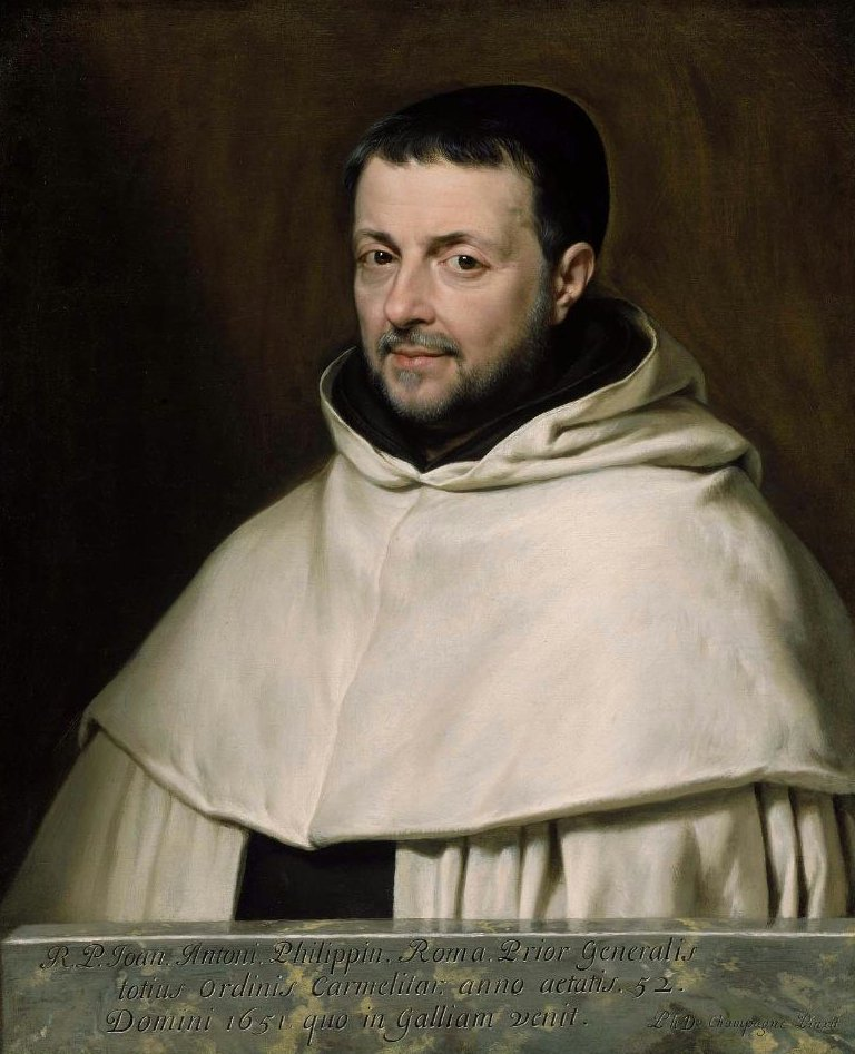 Portrait of the Reverend Father Giovanni Antonio Philippini 1651 | Philippe de Champaigne | oil painting