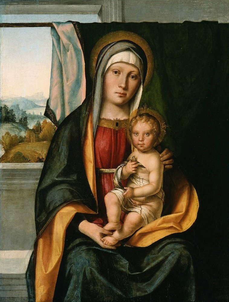 Virgin and Child 1500 1505 | Boccaccio Boccaccino | oil painting