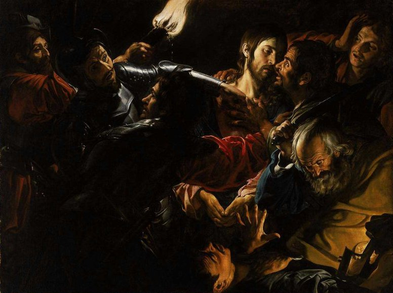 The Taking of Christ 1620 | Unidentified artist | oil painting