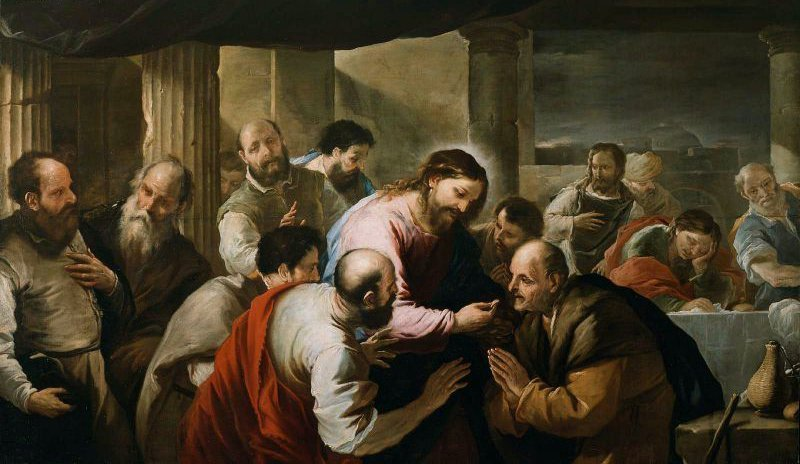 The Communion of the Apostles | Luca Giordano | oil painting