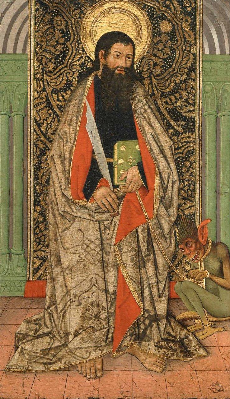 Saint Bartholomew | Unidentified artist | oil painting