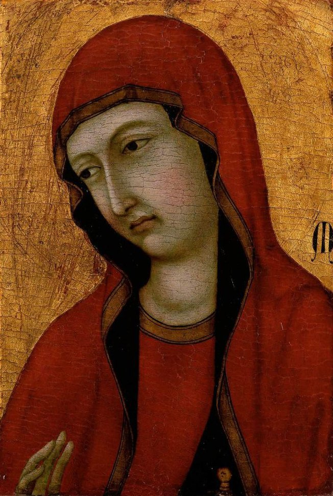 Saint Mary Magdalen 1320 | Ugolino di Nerio | oil painting