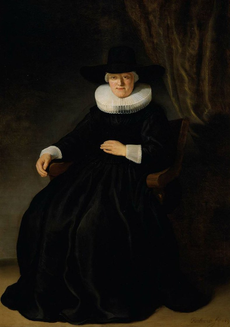 Mevr Johannes Elison 1634 | Rembrandt Harmensz van Rijn | oil painting