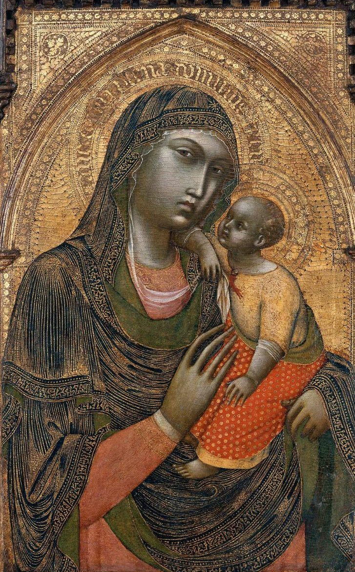 Virgin and Child 1360s | Barnaba da Modena | oil painting