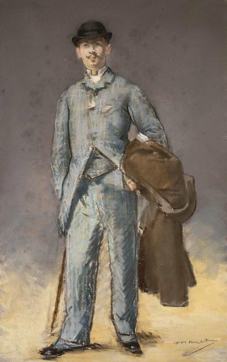 Rene Maizeroy 1882 | Edouard Manet | oil painting