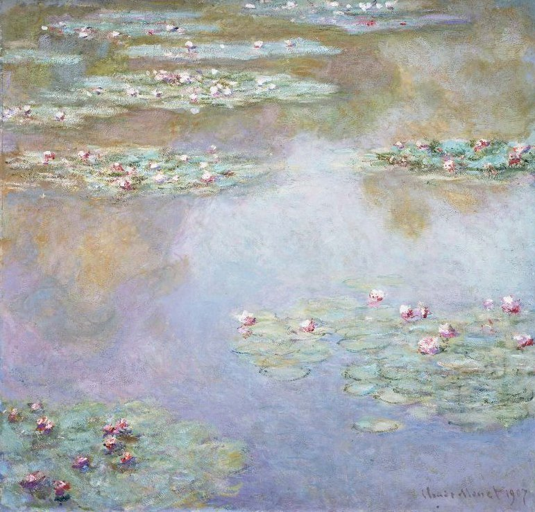 Water Lilies 1907 | Claude Monet | oil painting