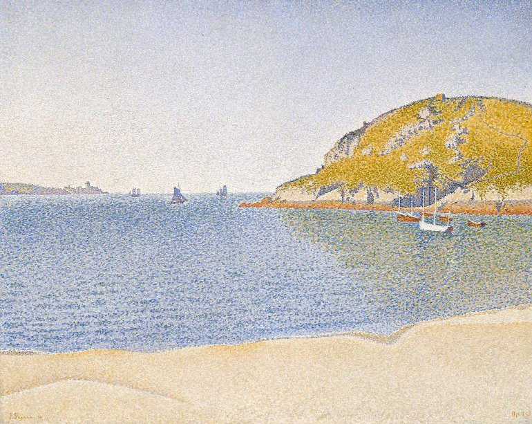 Port of Saint Cast 1890 | Paul Signac | oil painting