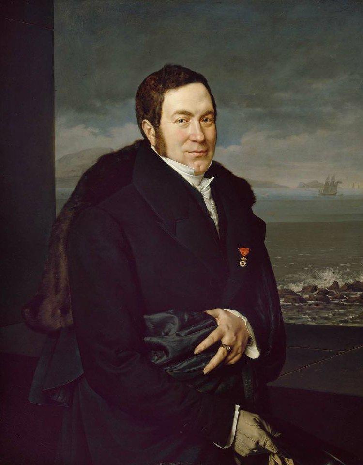 Portrait of a Man Rosario Persico 1812 | Francois Xavier Fabre | oil painting