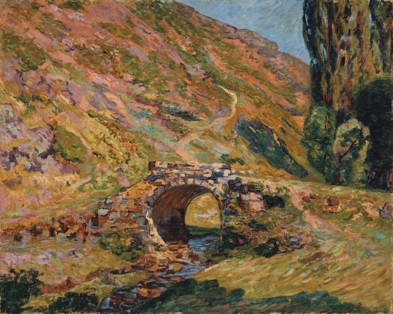 Bridge in the Mountains 1898 | Jean Baptiste Armand Guillaumin | oil painting