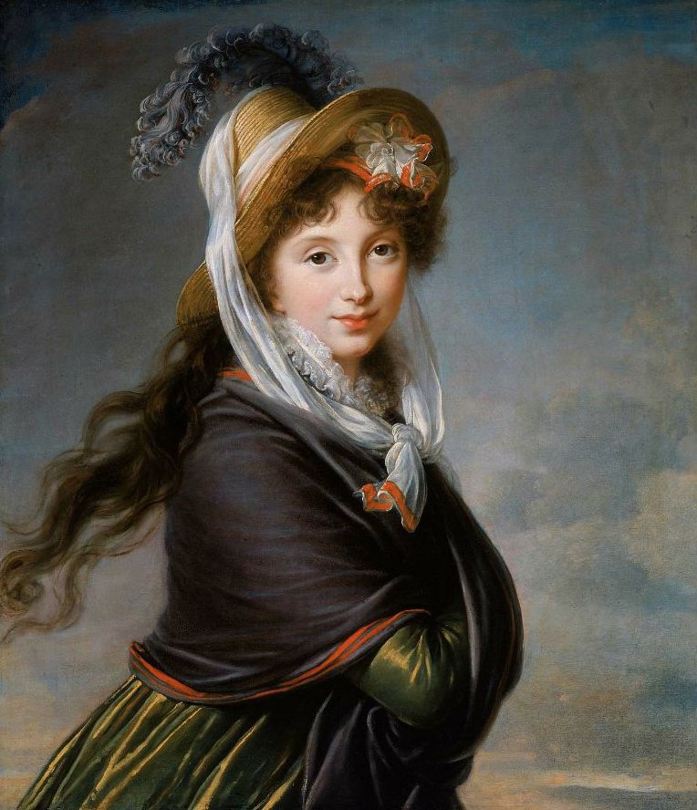 Portrait of a Young Woman 1797 | Marie Louise Elisabeth Vigee Le Brun | oil painting