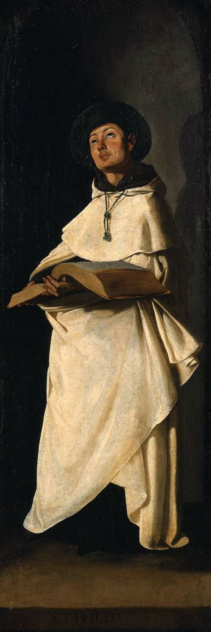 Saint Cyril of Constantinople 1632 | Francisco de Zurbaran | oil painting