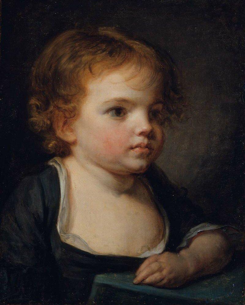 Portrait of a Child | Jean Baptiste Greuze | oil painting