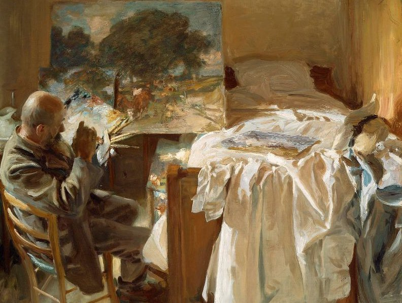 An Artist in His Studio 1904 | John Singer Sargent | oil painting