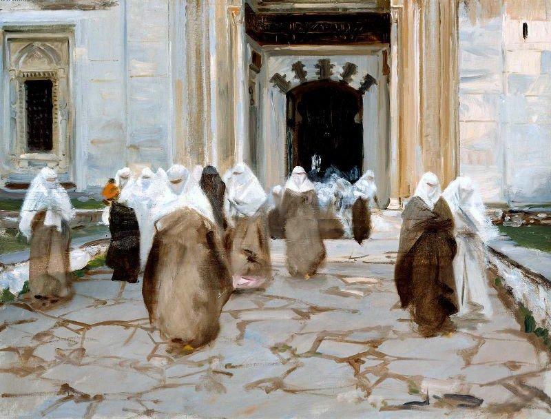 Door of a Mosque 1891 | John Singer Sargent | oil painting