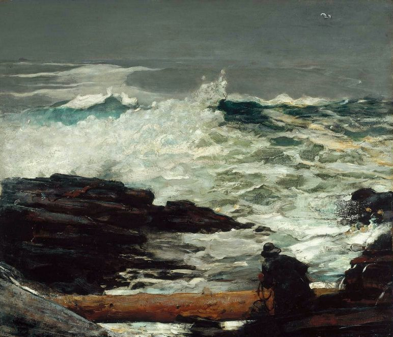 Driftwood 1909 | Winslow Homer | oil painting