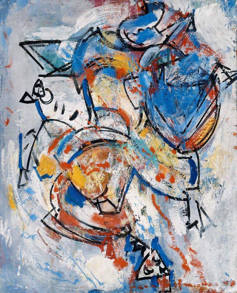 Integration 1944 | Hans Hofmann | oil painting