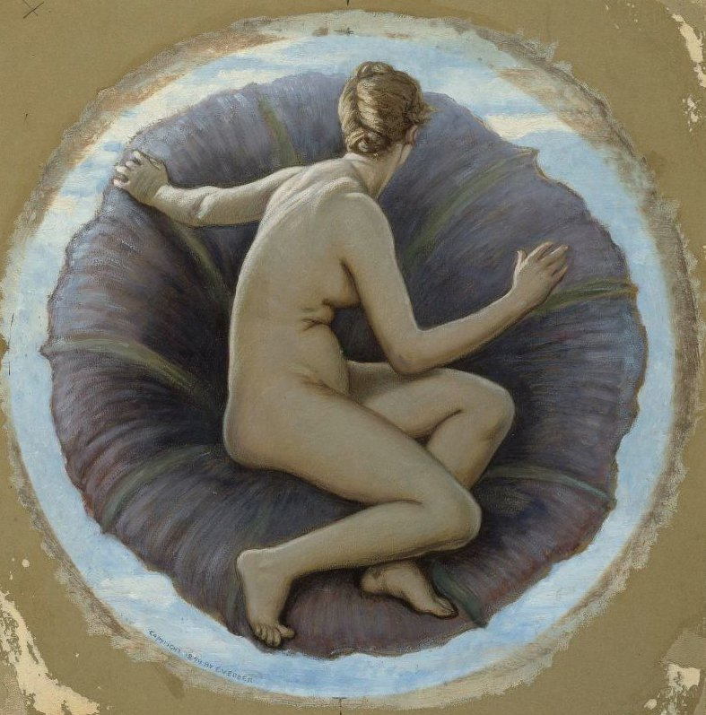 The Morning Glory 1899 | Elihu Vedder | oil painting