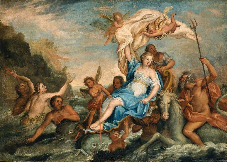 Galatea 1754 | John Singleton Copley | oil painting