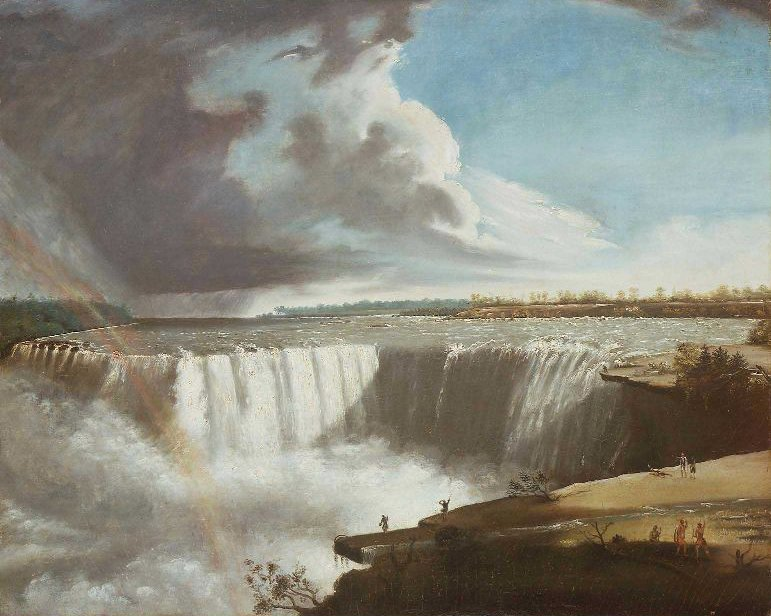 Niagara Falls from Table Rock 1835 | Samuel Finley Breese Morse | oil painting