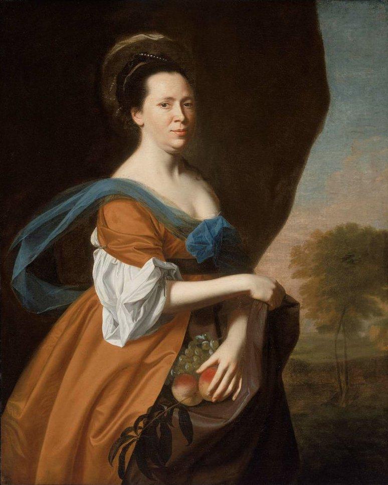 Mrs James Smith Elizabeth Murray 1769 | John Singleton Copley | oil painting