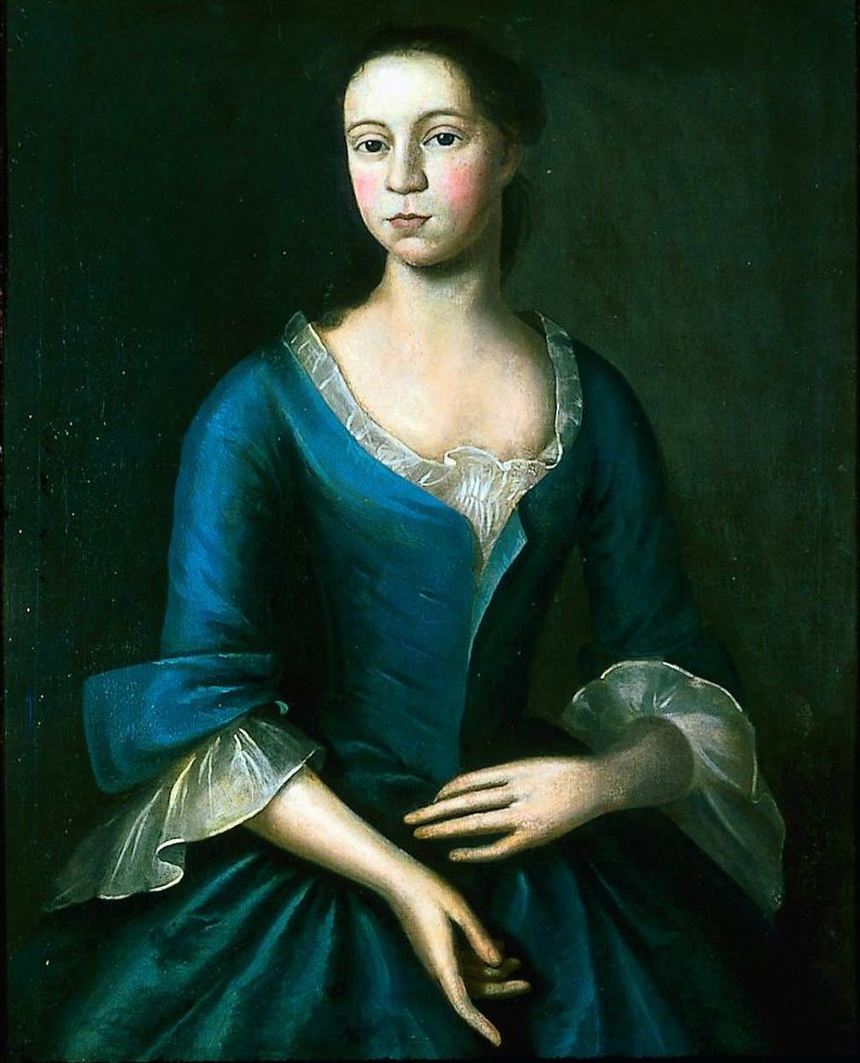 izabeth Storer Mrs Isaac Smith 1746 | Joseph Badger | oil painting