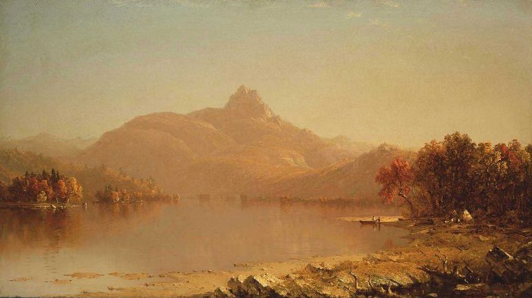 An October Afternoon 1871 | Sanford Robinson Gifford | oil painting