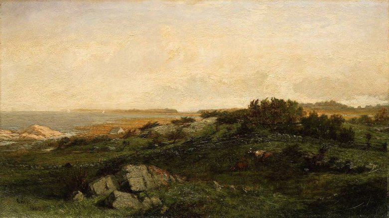 By the Sea 1865 | Winckworth Allan Gay | oil painting