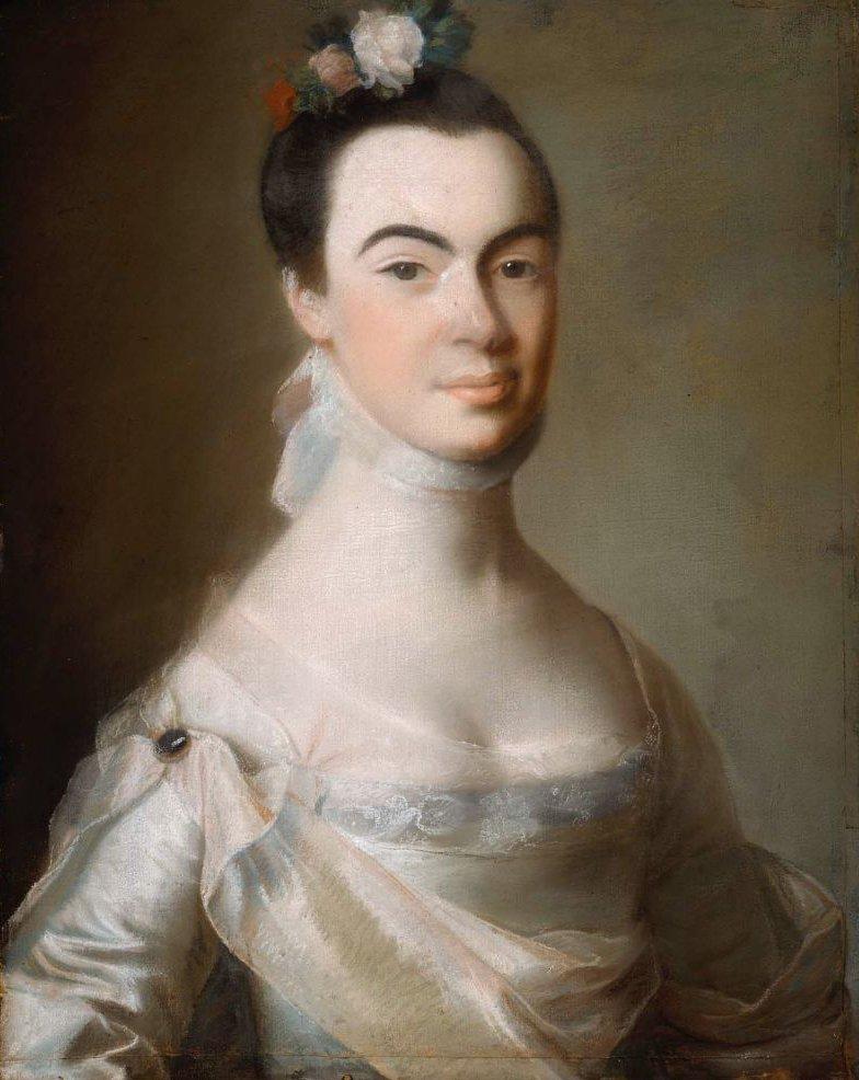 Mrs Samuel Henley Katherine Russell 1765 | John Singleton Copley | oil painting
