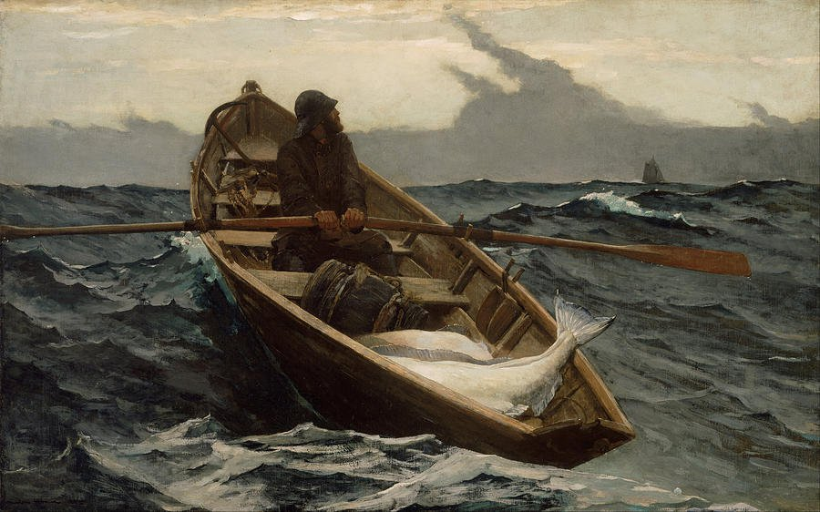 The Fog Warning 1885 | Winslow Homer | oil painting
