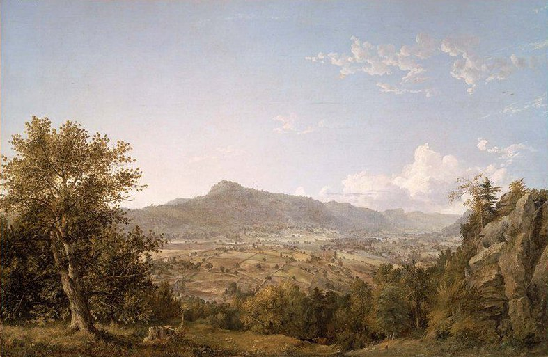 Schatacook Mountain Housatonic Valley Connecticut 1845 | Jasper Francis Cropsey | oil painting