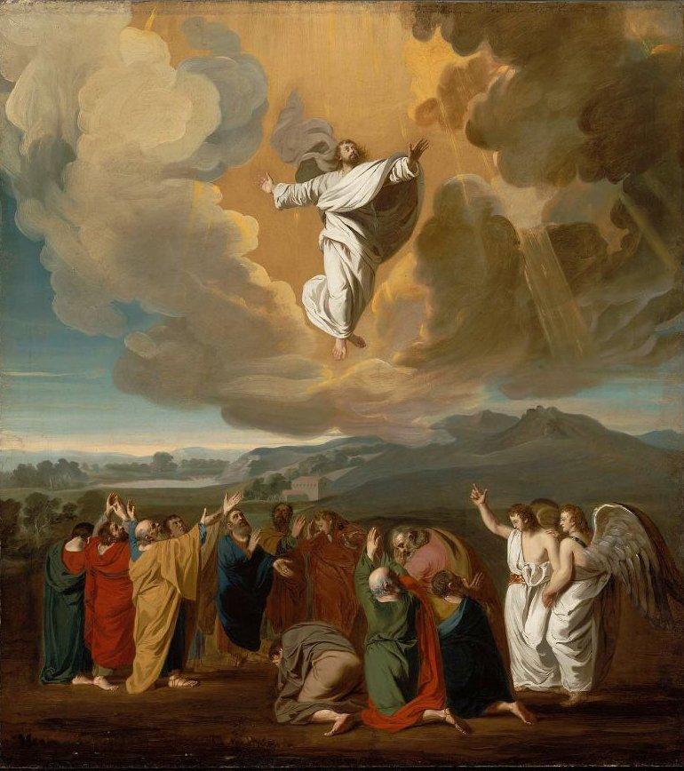 The Ascension 1775 | John Singleton Copley | oil painting