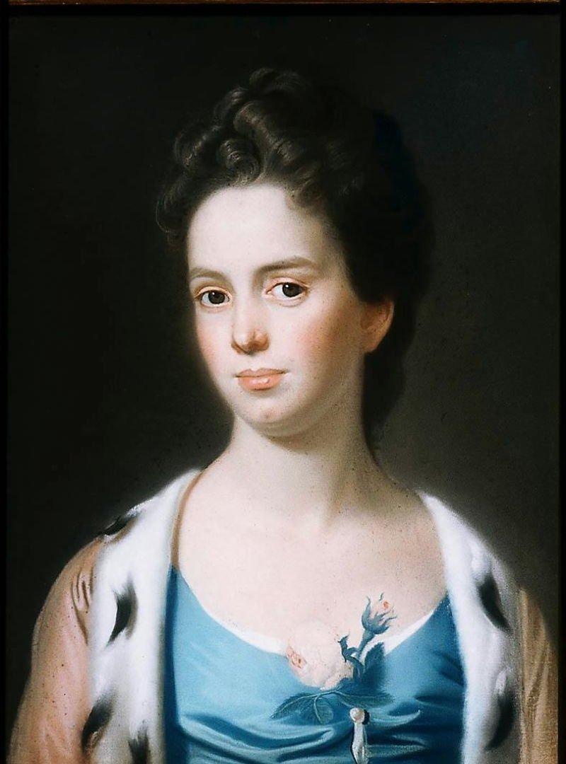 Mrs Joseph Barrell Hannah Fitch 1771 | John Singleton Copley | oil painting