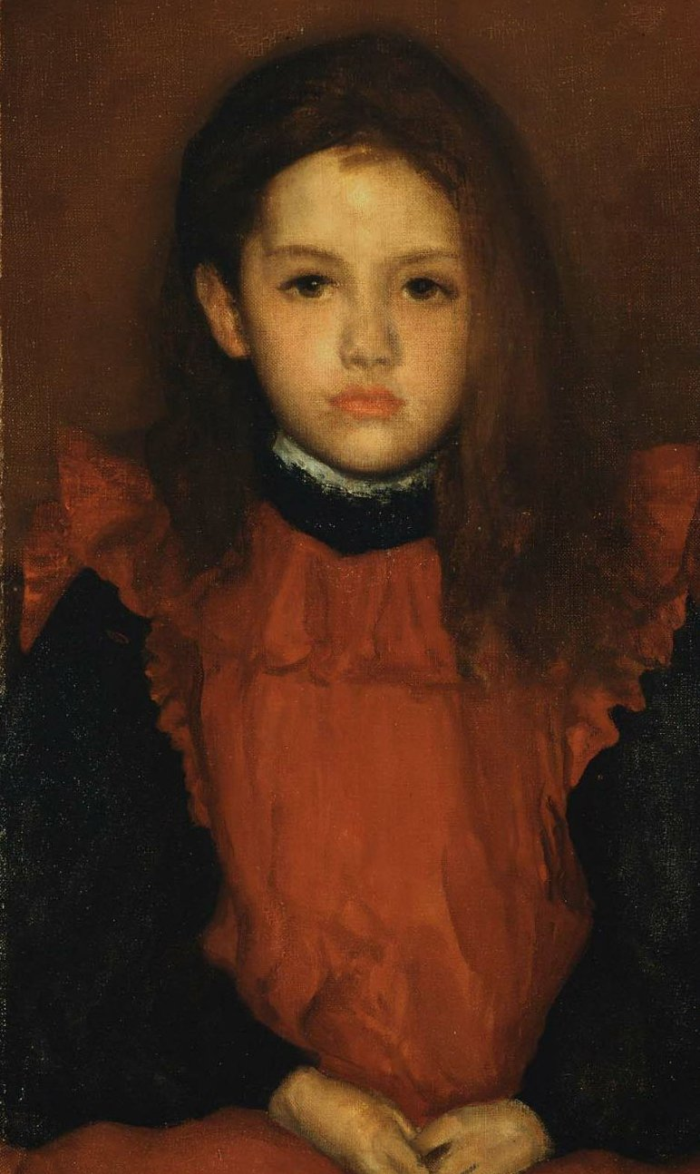 Little Rose of Lyme Regis 1895 | James Abbott McNeill Whistler | oil painting