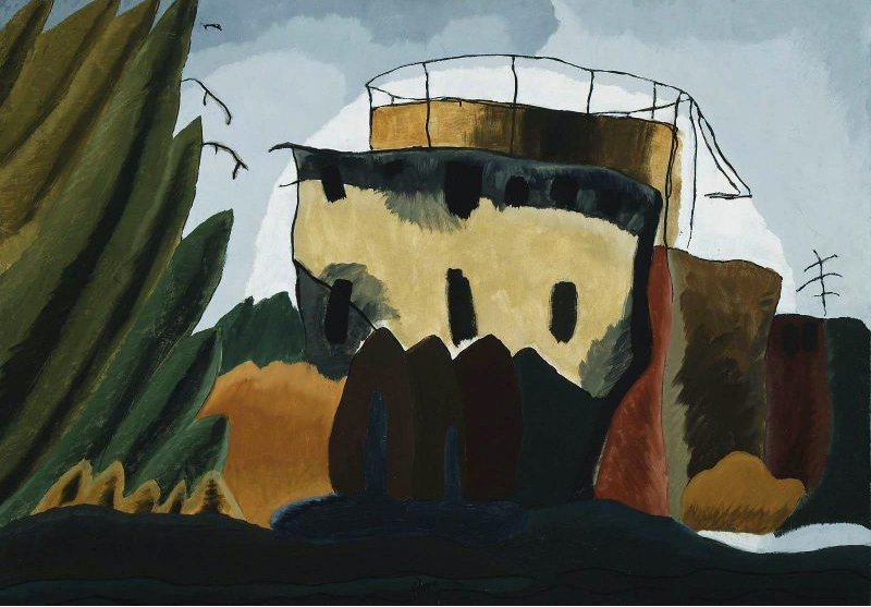 Tanks 1938 | Arthur Garfield Dove | oil painting