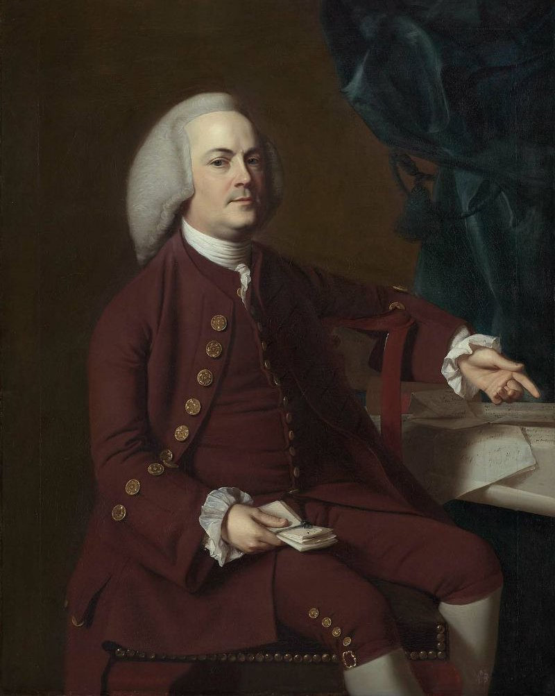 Isaac Royall 1769 | John Singleton Copley | oil painting