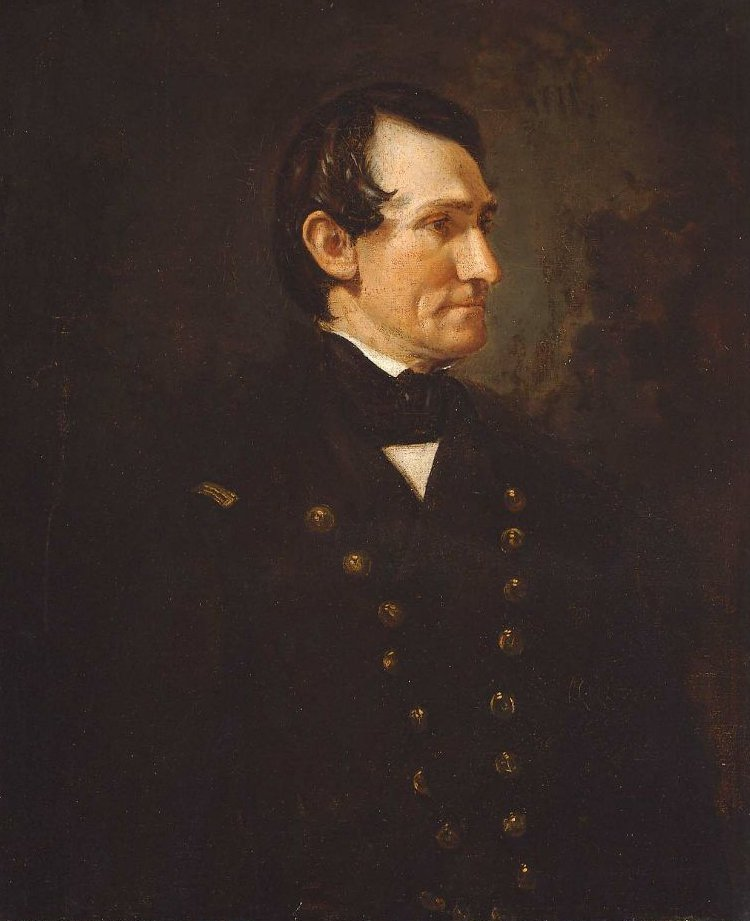 Commander William David Porter 1850 1864 | Unidentified artist | oil painting