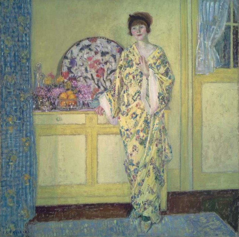 The Yellow Room 1910 | Frederick Carl Frieseke | oil painting