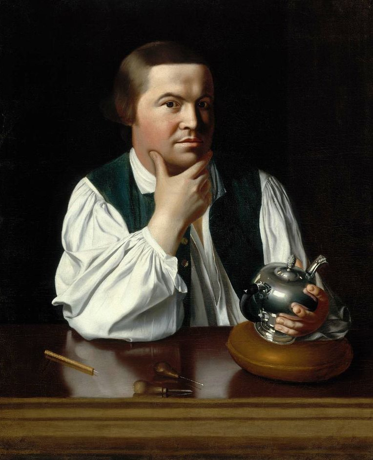 Paul Revere 1768 | John Singleton Copley | oil painting