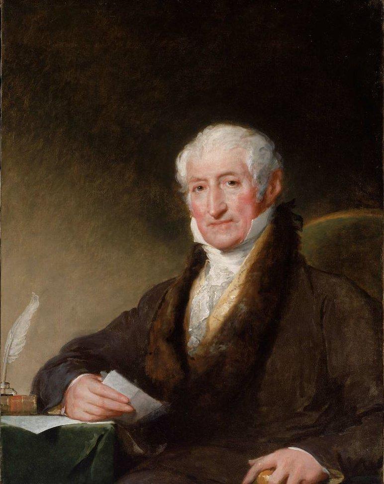 Ward Nicholas Boylston 1825 | Gilbert Stuart | oil painting