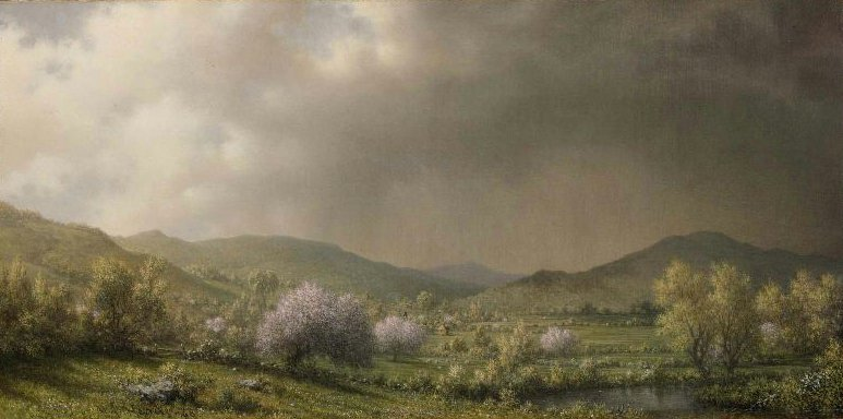 April Showers 1868 | Martin Johnson Heade | oil painting