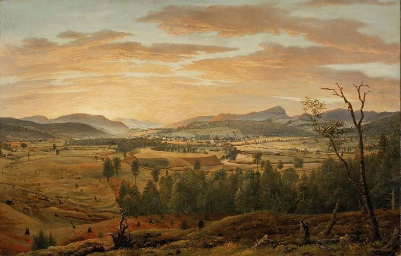 Bird Mountain Castleton Vermont 1855 | James Hope | oil painting
