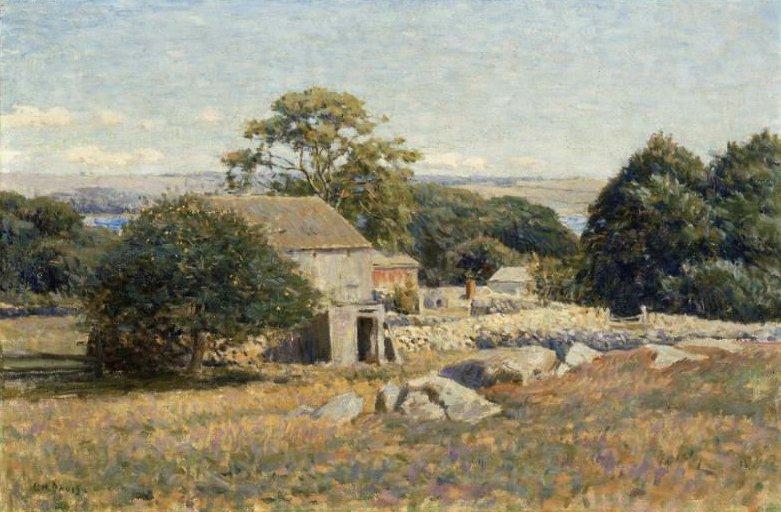 Morning Sunlight 1895 | Charles Harold Davis | oil painting