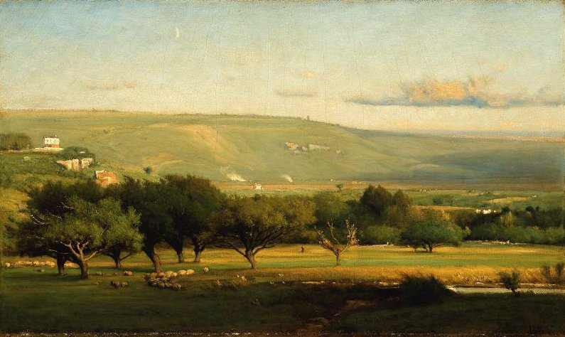 Italian Landscape 1872 | George Inness | oil painting