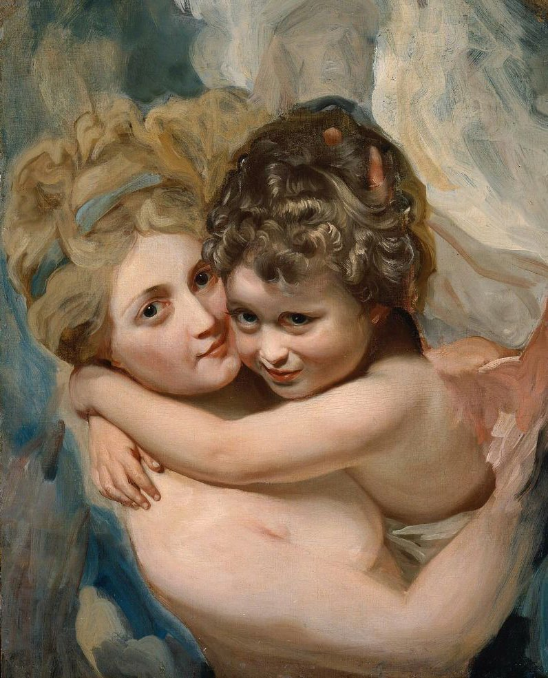 Venus and Cupid 1779 | John Singleton Copley | oil painting